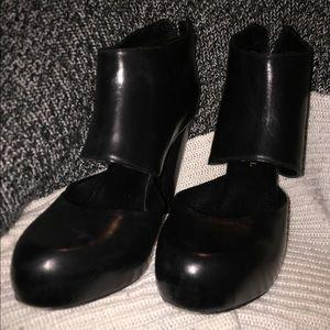 Loeffler Randall cut out booties